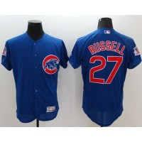 Cubs #27 Addison Russell Blue Flexbase Authentic Collection Stitched Baseball Jersey