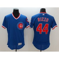 Cubs #44 Anthony Rizzo Blue Flexbase Authentic Collection Cooperstown Stitched Baseball Jersey