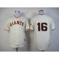 Giants #16 Angel Pagan Cream Cool Base Stitched Baseball Jersey