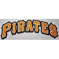 Huge Pittsburgh Pirates Iron-on Patch