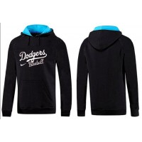 Los Angeles Dodgers Pullover Hoodie Black & Blue