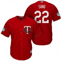 Men's Minnesota Twins #22 Miguel Sano 2017 Spring Training Cool Base Stitched MLB Jersey
