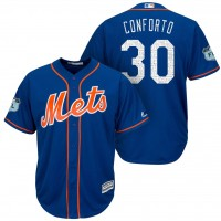 Men's New York Mets #30 Michael Conforto 2017 Spring Training Cool Base Stitched MLB Jersey