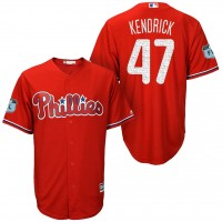 Men's Philadelphia Phillies #47 Howie Kendrick 2017 Spring Training Cool Base Stitched MLB Jersey