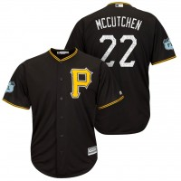 Men's Pittsburgh Pirates #22 Andrew McCutchen 2017 Spring Training Cool Base Stitched MLB Jersey