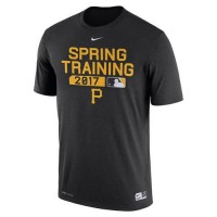 Men's Pittsburgh Pirates Nike Black Authentic Collection Legend Team Issue Performance T-Shirt