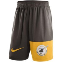 Men's San Diego Padres Nike Brown Cooperstown Collection Dry Fly Shorts
