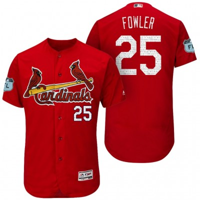 134473054 ... jersey 46dd9 e1e00  italy mens st.louis cardinals 25 dexter fowler 2017  spring training flex base authentic collection