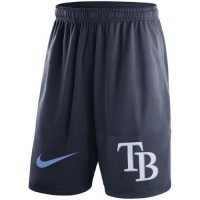 Men's Tampa Bay Rays Nike Navy Dry Fly Shorts