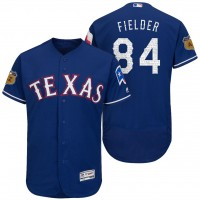 Men's Texas Rangers #94 Prince Fielder 2017 Spring Training Flex Base Authentic Collection Stitched Baseball Jersey