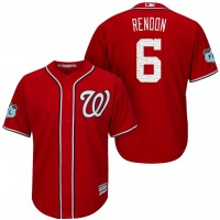 Men's Washington Nationals #6 Anthony Rendon 2017 Spring Training Cool Base Stitched MLB Jersey