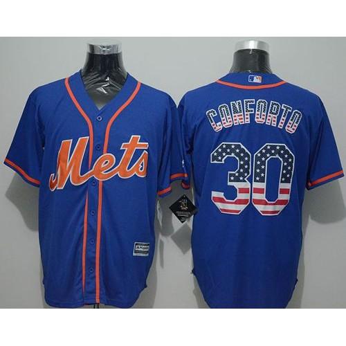 7891ba93c ireland mets 30 michael conforto blue usa flag fashion stitched baseball  jersey 05de4 932e0