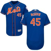 Mets #45 Tug McGraw Blue Flexbase Authentic Collection Stitched Baseball Jersey