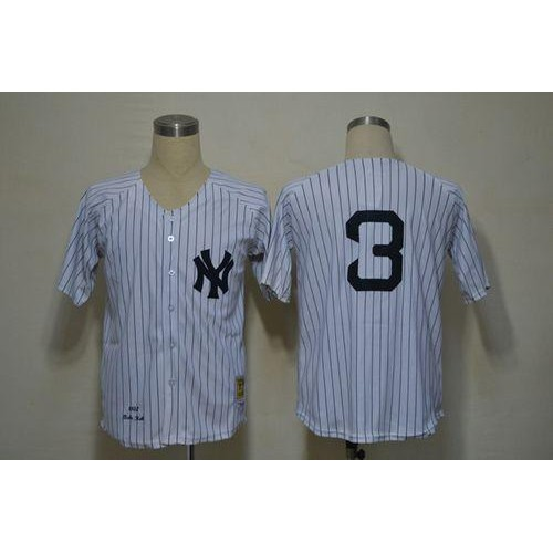 new style 1ba51 d1fa9 Mitchell And Ness 1932 Yankees #3 Babe Ruth White Throwback ...
