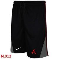 Nike Baseball Atlanta Braves Performance Training Shorts Black