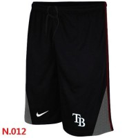 Nike Baseball Tampa Bay Rays Performance Training Shorts Black