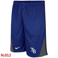 Nike Baseball Tampa Bay Rays Performance Training Shorts Blue