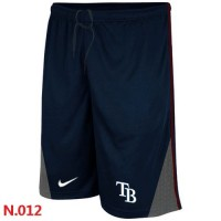 Nike Baseball Tampa Bay Rays Performance Training Shorts Dark Blue