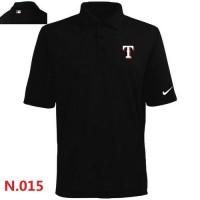 Nike Texas Rangers 2014 Players Performance Polo Black