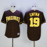 Padres #19 Tony Gwynn Coffee New Cool Base Stitched Baseball Jersey