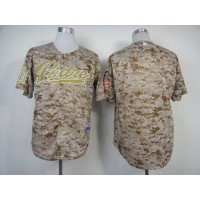 Padres Blank Camo Alternate 2 Cool Base Stitched Baseball Jersey
