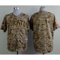 Pirates Blank Camo Alternate Cool Base Stitched Baseball Jersey