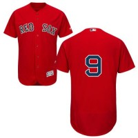 Red Sox #9 Ted Williams Red Flexbase Authentic Collection Stitched Baseball Jersey