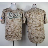 Reds Blank Camo Alternate Cool Base Stitched Baseball Jersey