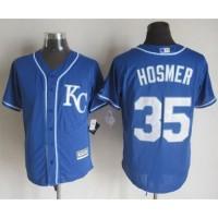 Royals #35 Eric Hosmer Blue Alternate 2 New Cool Base Stitched Baseball Jersey