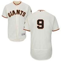 San Francisco Giants #9 Brandon Belt Cream Flexbase Authentic Collection Stitched MLB Jersey