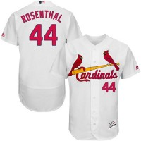 St.Louis Cardinals #44 Trevor Rosenthal White Flexbase Authentic Collection Stitched MLB Jersey