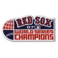 Stitched Baseball 2007 Boston Red Sox World Series Champions Jersey Patch