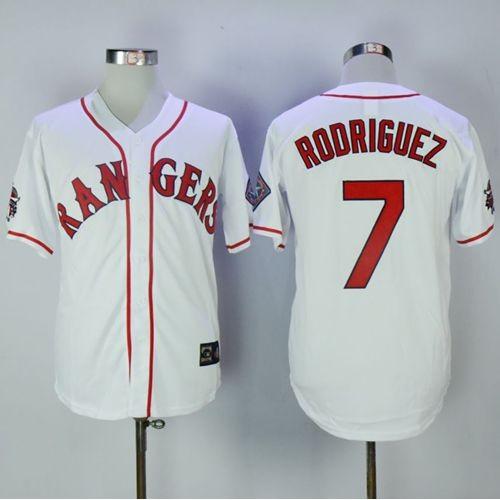 premium selection dafaf e79cb discount texas rangers pudge rodriguez jersey 2278f 9c7fc