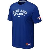 Toronto Blue Jays Nike Short Sleeve Practice Baseball T-Shirts Blue