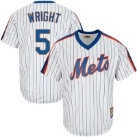 Youth New York Mets #5 David Wright White(Blue Strip) Alternate Cool Base Stitched MLB Jersey