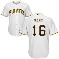 Youth Pittsburgh Pirates #16 Jung-ho Kang White Cool Base Stitched MLB Jersey