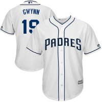 Youth San Diego Padres #19 Tony Gwynn White Cool Base Stitched MLB Jersey