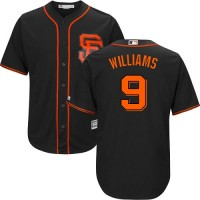 Youth San Francisco Giants #9 Matt Williams Black Alternate Cool Base Stitched MLB Jersey