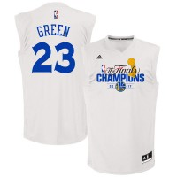 Golden State Warriors #23 Draymond Green White 2017 NBA Champions Jersey