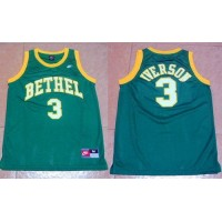 76ers #3 Allen Iverson Green Bethel High School Nike Stitched NBA Jersey