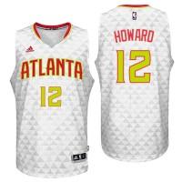 Atlanta Hawks #12 Dwight Howard Home White New Swingman Jersey