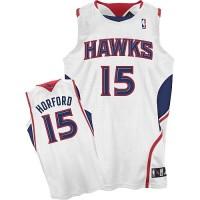 Atlanta Hawks #15 Al Horford Revolution 30 Swingman Home White Jersey