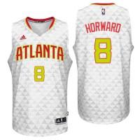 Atlanta Hawks #8 Dwight Howard 2016 Home White New Swingman Jersey