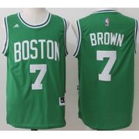Boston Celtics #7 Jaylen Brown Green Stitched NBA Jersey