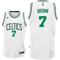 Boston Celtics #7 Jaylen Brown White Home Swingman Jersey