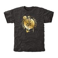 Boston Celtics Gold Collection Tri-Blend T-Shirt Black