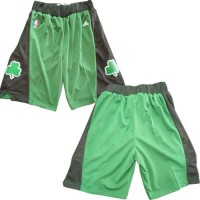 Boston Celtics Green NBA Shorts