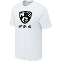 Brooklyn Nets Cord Logo Men's NBA T-shirt White