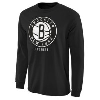Brooklyn Nets Noches Enebea Long Sleeves T-Shirt Black