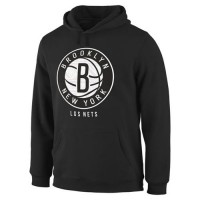 Brooklyn Nets Noches Enebea Pullover Hoodie Black